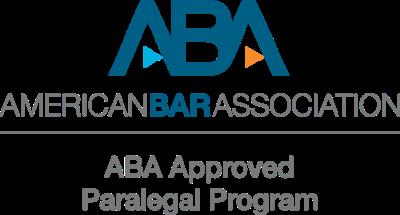 ABA Approved Paralegal Program logo